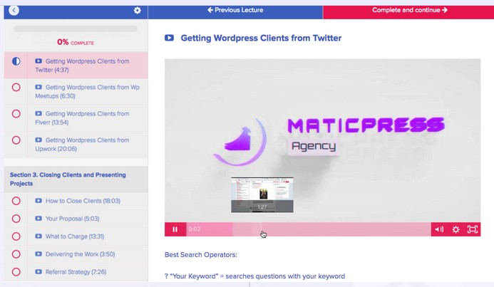 MaticPress Pro Agency Software System & OTO Upsell by Ben Murray
